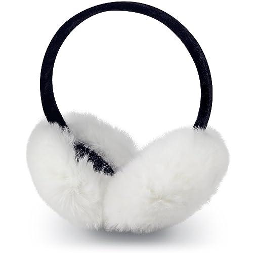 SPAHER Orejeras de peluche suave de invierno térmicos orejeras Calentadores de oído Oreja cubierta del oído Cap Sombrero de Navidad Regalo de Año Nuevo para mujeres Hombres Niñas