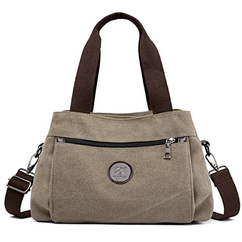02d369ad74fc 90 Eagle Hobo Canvas Handbag Vintage Women Tote Shoulder Bags Multi  Compartment