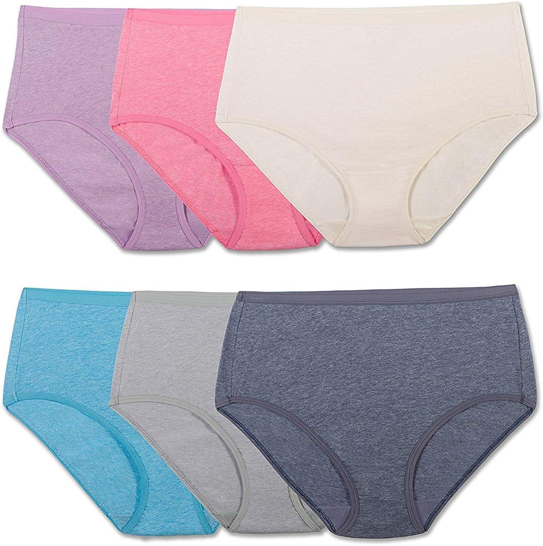 Fruit of the Loom Women's 6 Pack Beyondsoft Panties