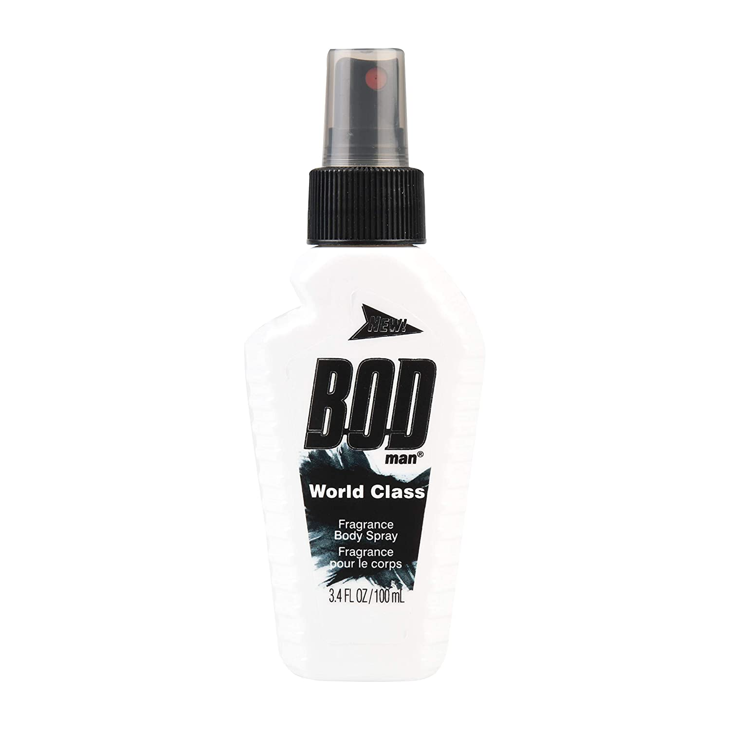 Bod Man (1) Bottle Fragrance Body Spray - World Class Scent - Net Wt. 3.4 fl oz