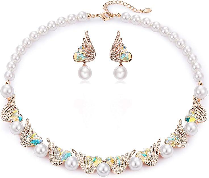 Mother/'s day Black burgundy Natural Pearl Handmade Anniversary gift Jewelry Birthday Dangle Drop Earrings