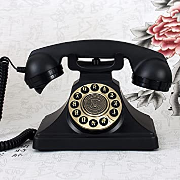 Vintage Retro Teléfono Anillo de metal Tono de teléfono ...