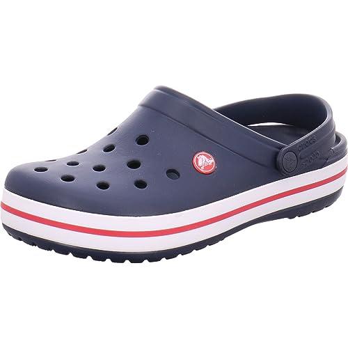 Pierwsze spojrzenie najlepsza obsługa oficjalny sklep Crocs Crocband Clogs - Navy - UK 4 (M4/W6): Amazon.co.uk ...