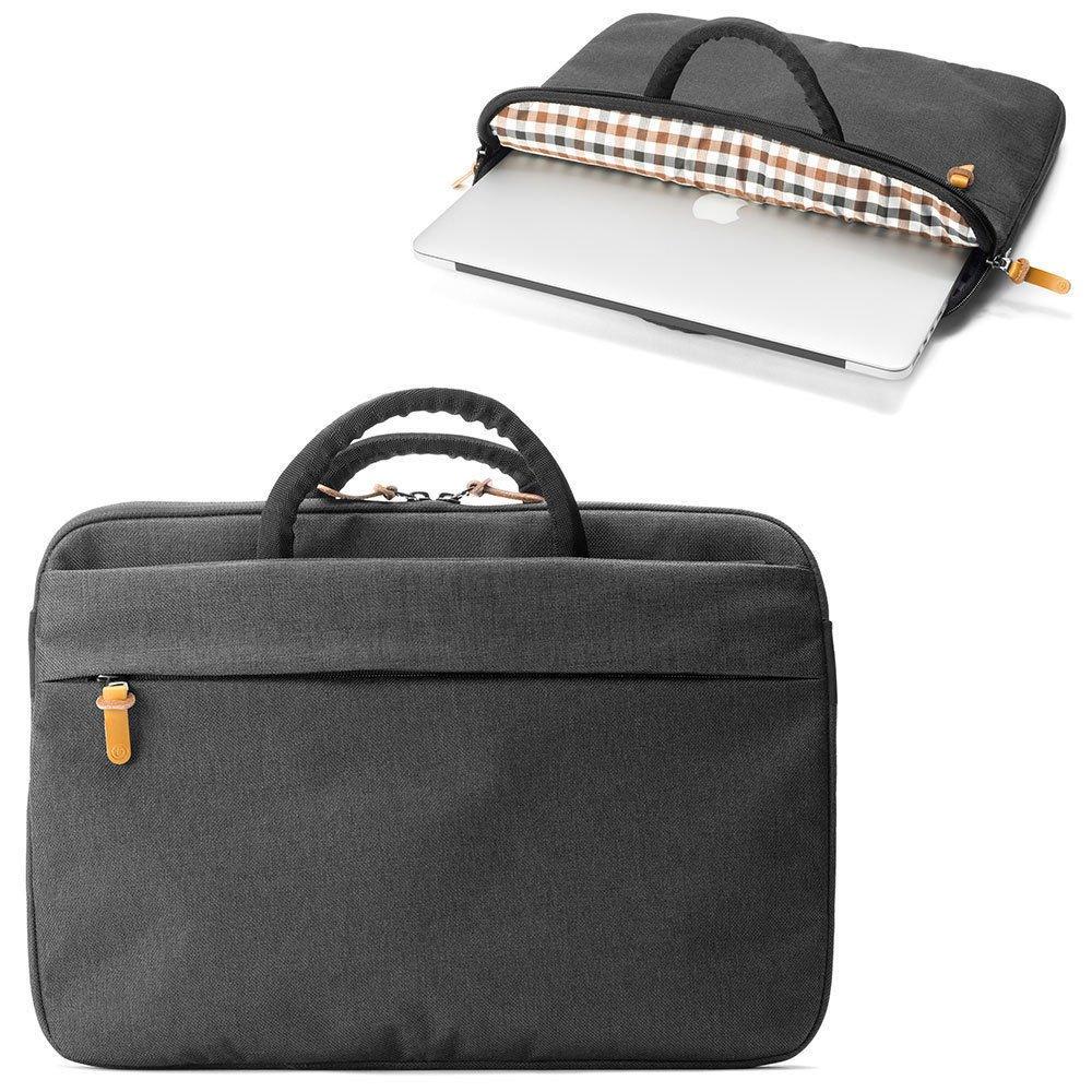 Booq Superslim 13 Laptop Case | Black/Tan by Booq