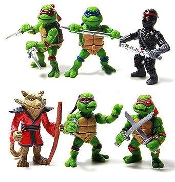 Tortugas Ninja - Teenage Mutant Ninja Turtle - 5 CM - 6 ...