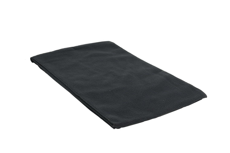 SSP Men's Wide Anti-Pill Fleece Winter Scarf 54 / 137cm long x 11 / 28cm wide Black