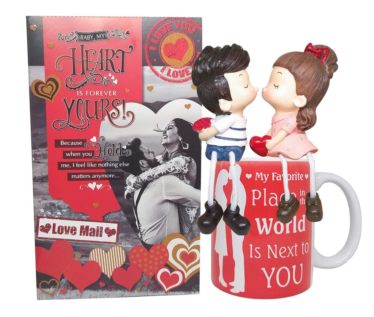 Greeting Card, Coffee Mug & Love Couple
