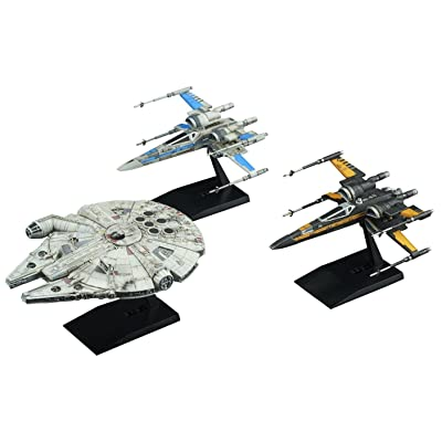 Bandai Hobby Resistance Vehicle Set Star Wars: The Last Jedi: Bandai Hobby Gunpla: Toys & Games