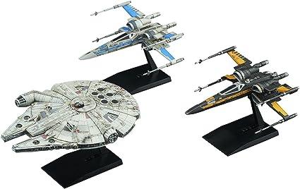 Star Wars Last Jedi Resistance Vehicle Set 1//144 and 1//350 Scale Plastic Model