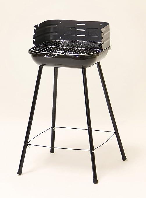 BBQ Barbacoa de carbón con parrilla regulable.: Amazon.es: Hogar