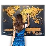 Aluminium carte du monde