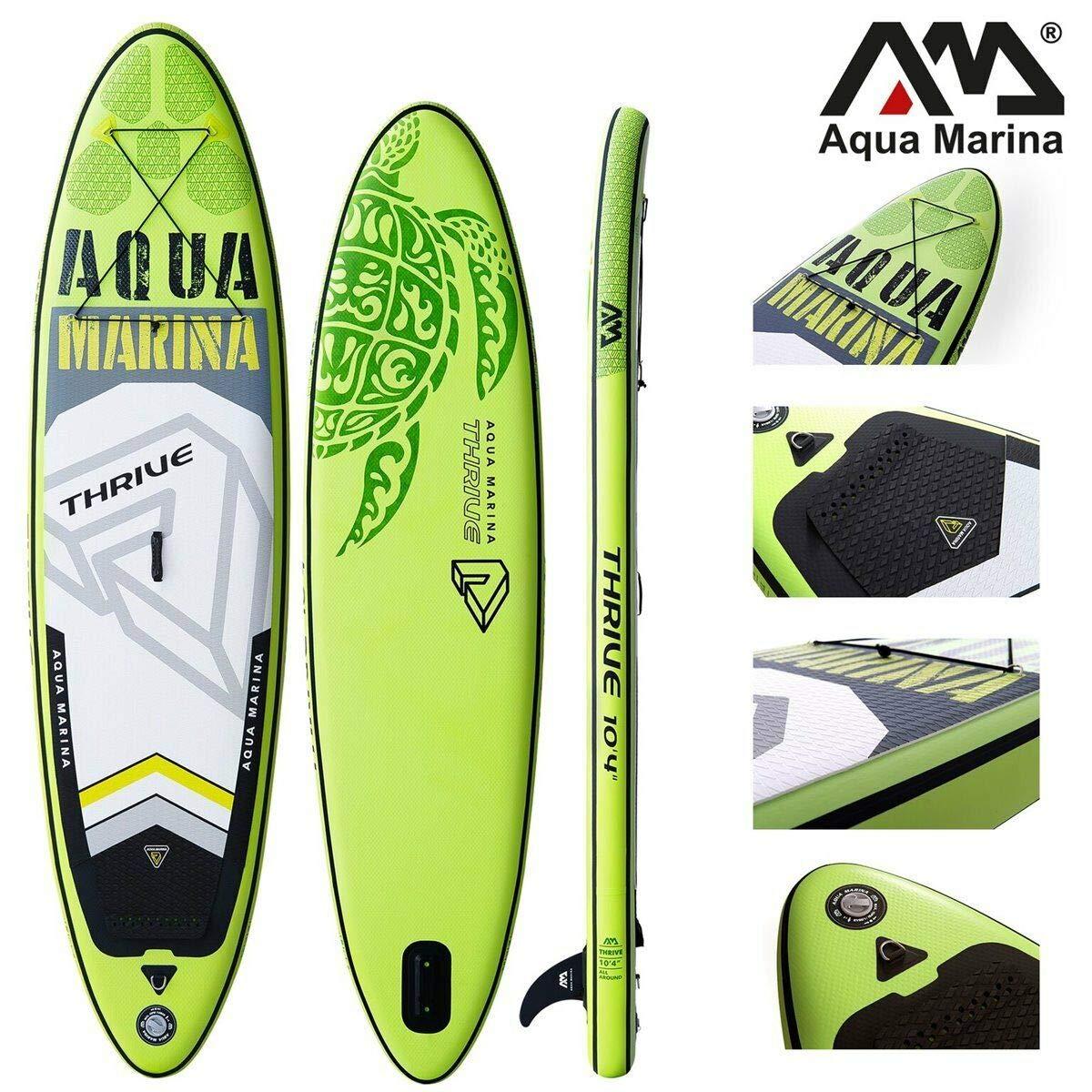 Aqua Marina Thrive - Tabla de Surf Hinchable para Paddle Surf (315 x 79 x 15 cm)