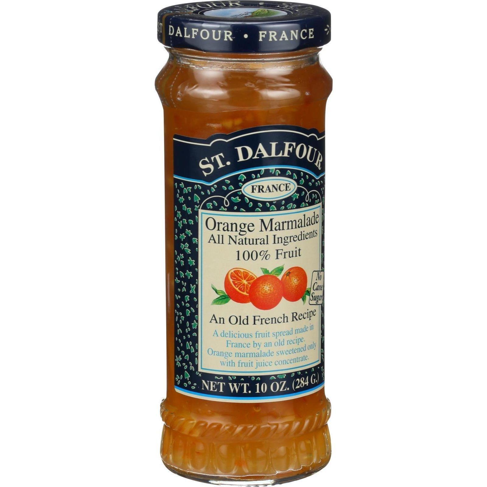 St Dalfour Orange Marmalade 100% Fruit Conserve
