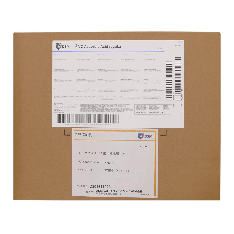 ビタミンC(L-アスコルビン酸)25kg 粉末100%品 食品添加物グレード(食品) B01HE6LSA8