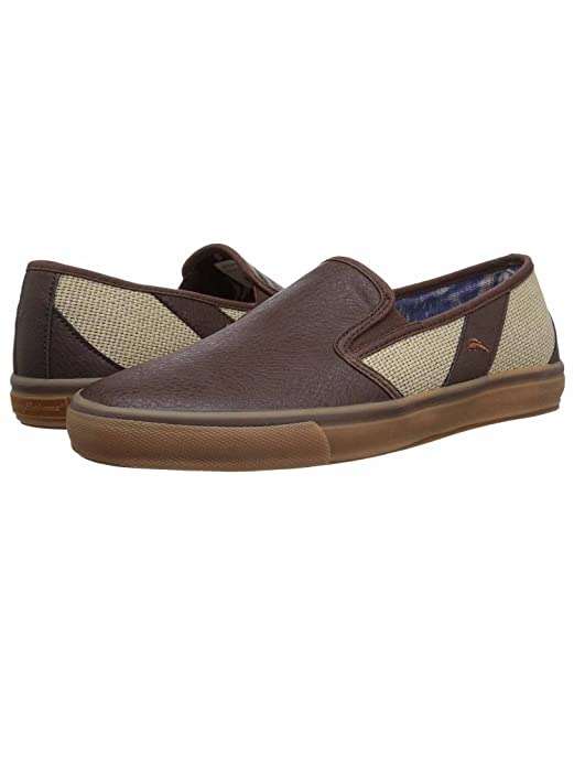 Mens Pacific Ridge Slip-On Shoes (Cream/Brown-TB 12)