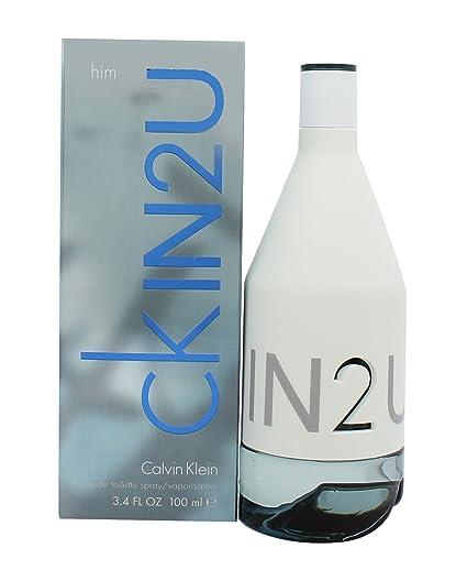 buying now on feet shots of huge sale Calvin Klein CK In 2U EDT Spray (Men's 100ml)
