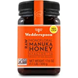 Wedderspoon Raw Premium Manuka Honey KFactor 16+, Unpasteurized, Genuine New Zealand Honey, Multi-Functional, Non-GMO…