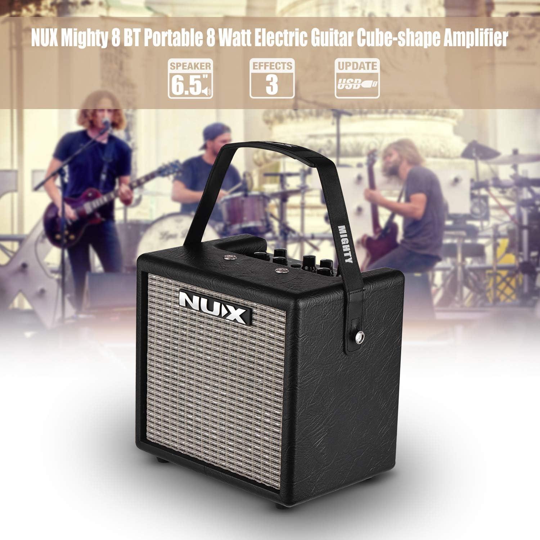 Fesjoy Mighty 8 BT Amplificador de guitarra eléctrica portátil de ...