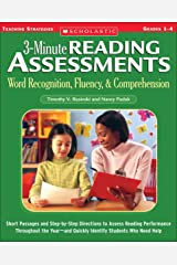3-Minute Reading Assessments: Word Recognition, Fluency, and Comprehension: Grades 1-4 (Three-minute Reading Assessments) Kindle Edition