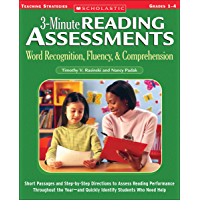 3-Minute Reading Assessments: Word Recognition, Fluency, and Comprehension: Grades 1-4 (Three-minute Reading Assessments…