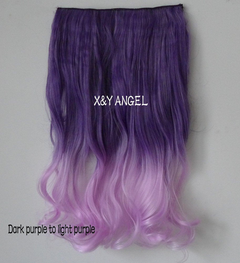 Amazon Xy Angel New Two Tone One Piece Long Curlcurlywavy