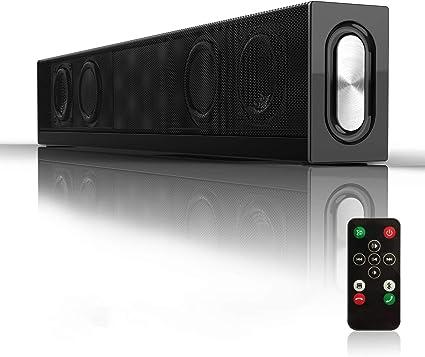 Wireless Bluetooth 3D TV Sound Bar Home Theater Subwoofer Soundbar Speaker PC