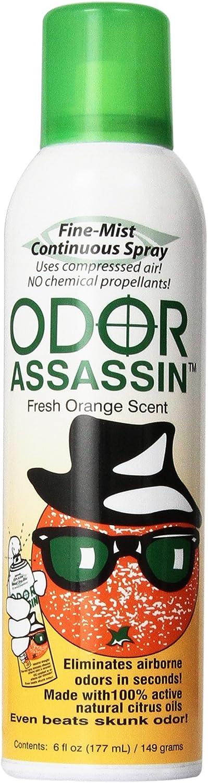 Jay 124947 Odor Assassin, 6 oz, Orange