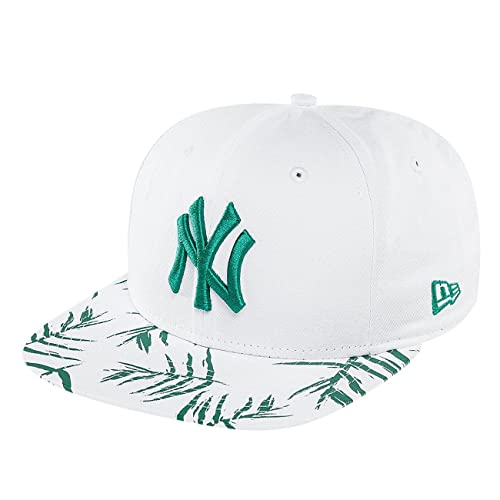 Gorro Snapback New Era 9Fifty Sandwash Visor Print New York Yankees Azuloscuro-O