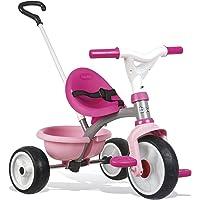 Triciclo Be move rosa con volquete y ruedas