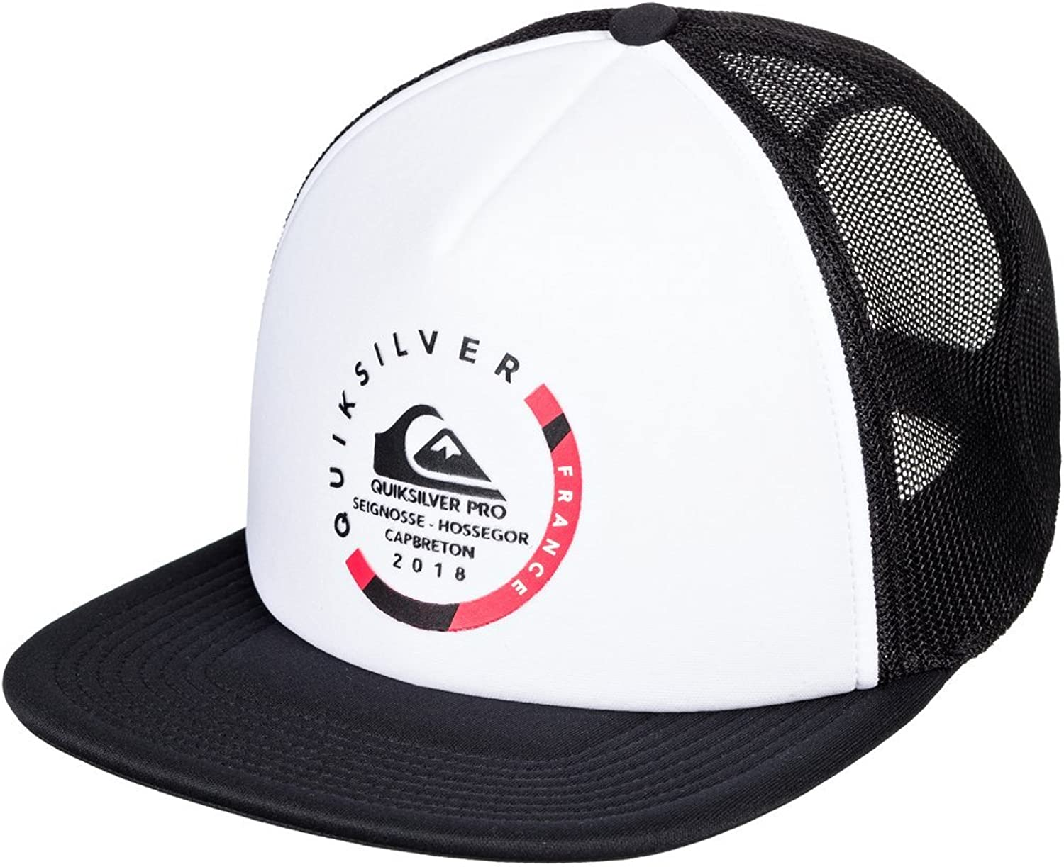 Quiksilver - Gorra Trucker - Hombre - One Size - Blanco: Amazon.es ...