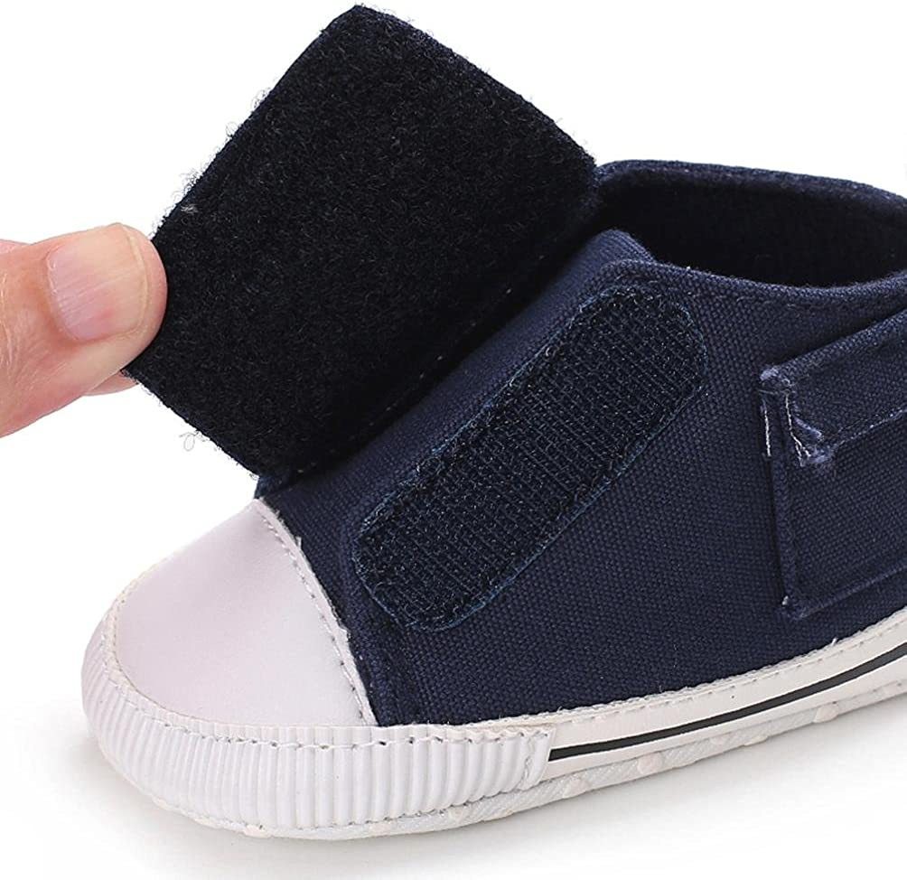 Highpot Cute Soft Baby Shoes With Shoelace Baby Crib Shoes First Walking Shoes