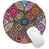 Alfombrilla de mouse Pricetail, con diseño de burbujas de colores con alfombrilla antideslizante para mouse, impermeable…