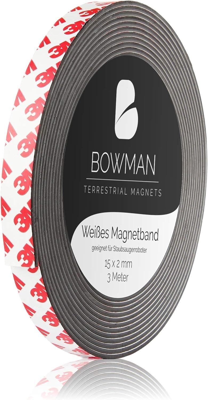 BOWMAN - Robot aspirador (banda magnética, extrafina y autoadhesiva): Amazon.es: Hogar