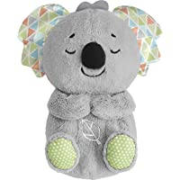 Fisher-Price Soothe 'n Snuggle Koala, Musical Plush Baby Toy with Realistic Breathing Motion, Multicolor