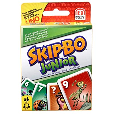 Mattel Games Skip-Bo Junior Card Game: Toys & Games