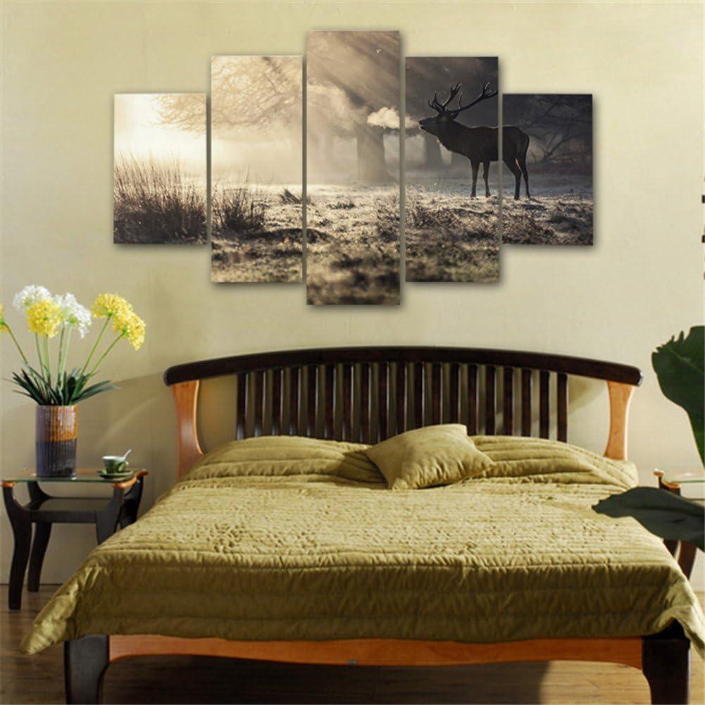 Senza Telaio Wall Art Decorazioni per la casa Oceano Stampa in qualita Fotografica LianLe Stampa su Tela//Quadro su Tela
