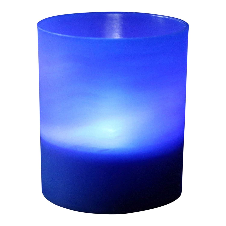 sans Flamme Thé Lumières Bleu foncé bougeoirs à Piles Lot DE 6Bougies–LED Blanc par PK Vert PK Green UKASNHKTN8118