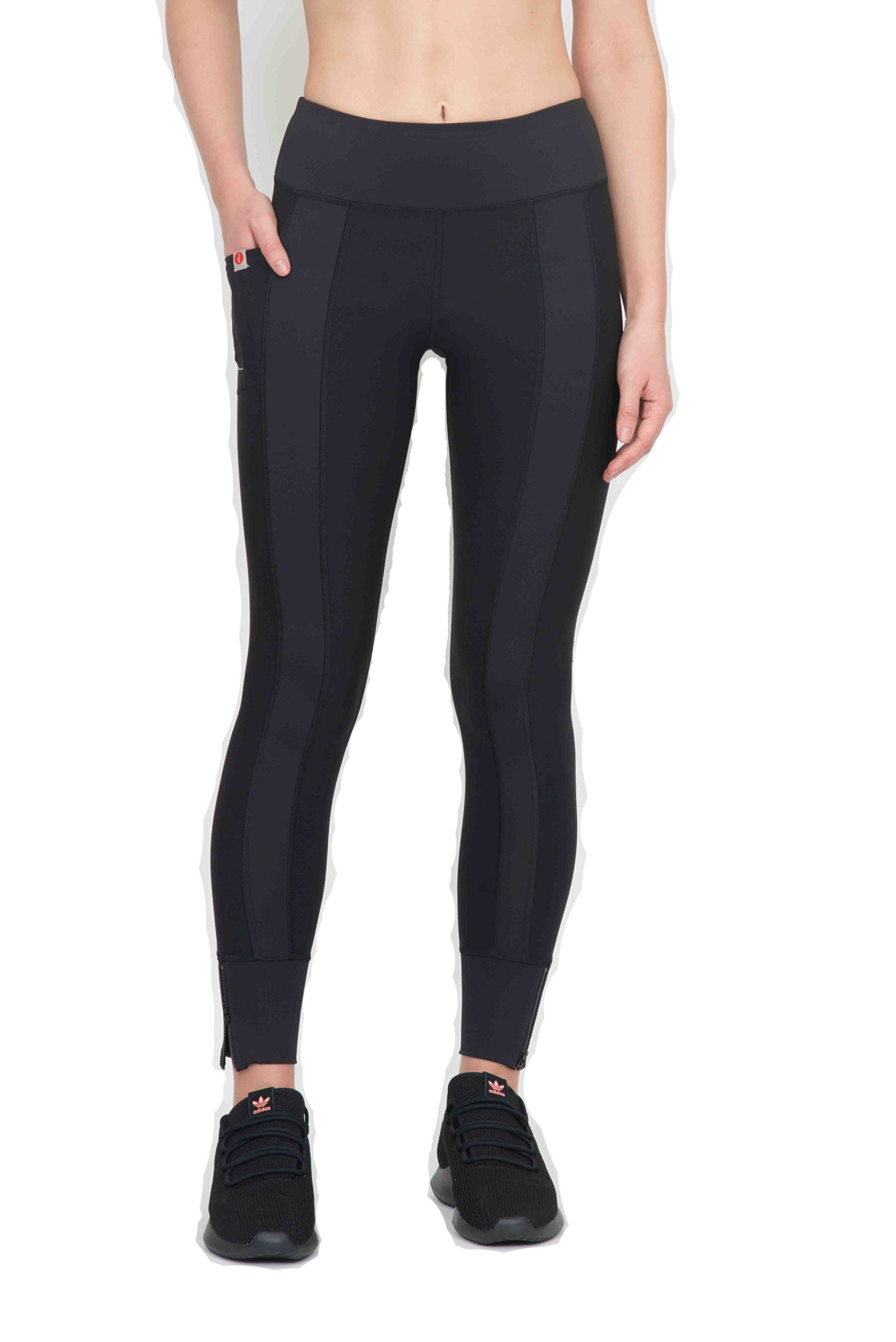 X by Gottex Workout Leggings   Unique, Printed & Stylish Activewear with Easy Access Pocket   88% Polyester & 12% Spandax Fabric   Stretchable, Breathable & Dry Fit   Full Length & High Waist  Chintz