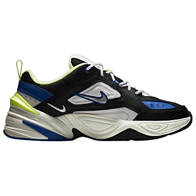 Nike Mens M2K Teknno Running Shoes (11) Black/Metallic Silver | Road Running