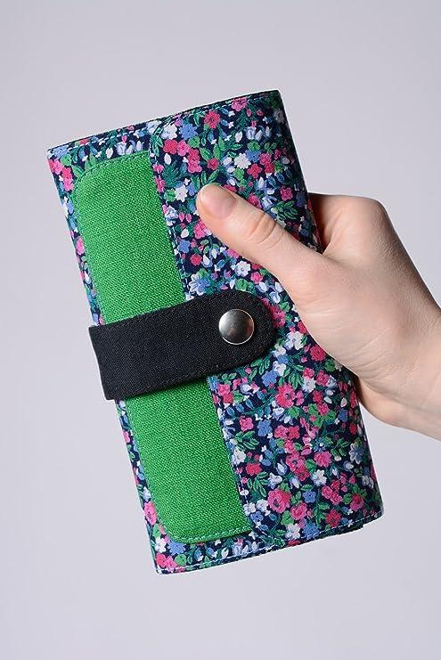 Conjunto de accesorios artesanales de carteras de tela y pendientes originales: Amazon.es: Hogar