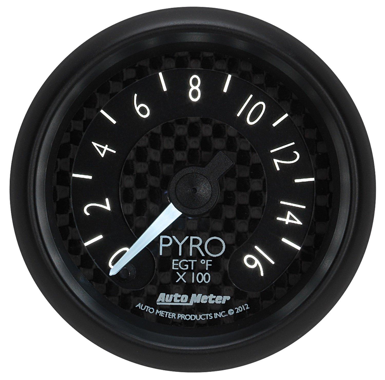 Auto Meter 8044 GT Series Electric Pyrometer/EGT Gauge by Auto Meter (Image #4)