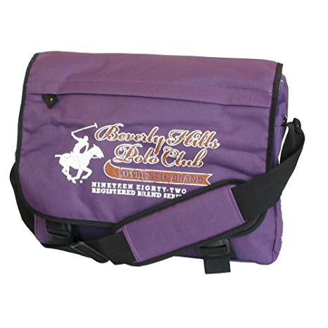 Image Unavailable. Image not available for. Color  Beverly Hills Polo Club  The Timekeeper Messenger Bag ... e602d4e5f2