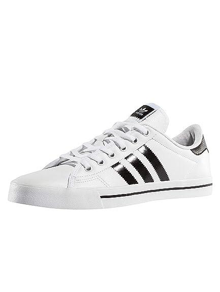 size 40 43f46 76a96 adidas Hombres Calzado Zapatillas de Deporte Adicourt  Amazon.es  Zapatos y  complementos