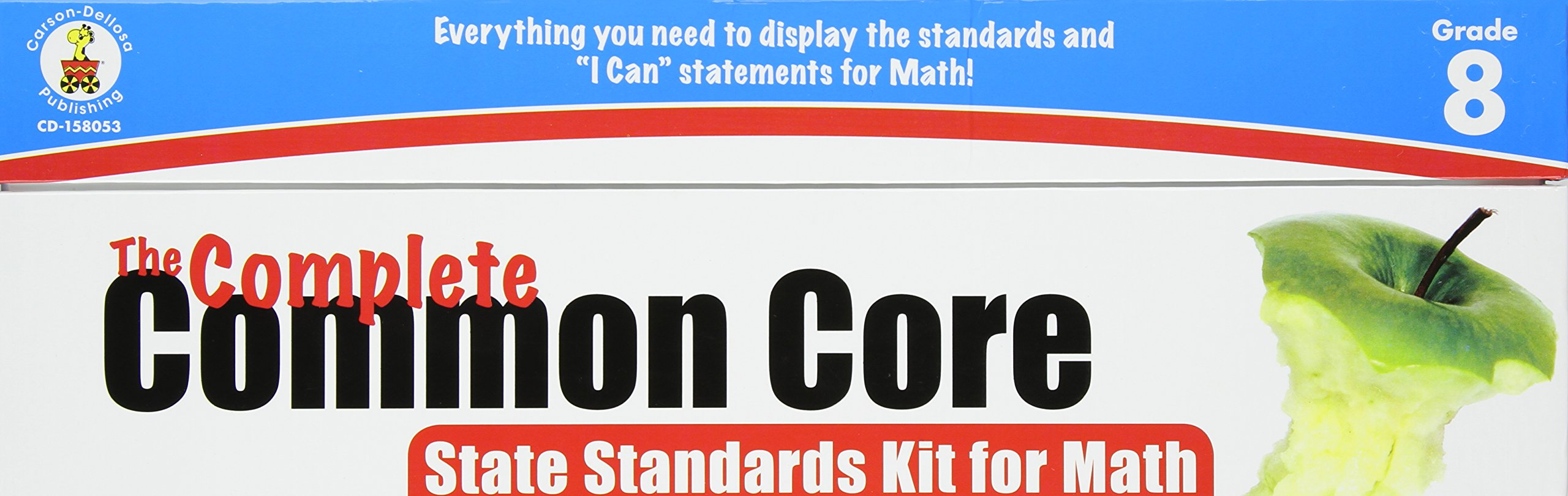 The Complete Common Core State Standards Kit for Math, Grade 8