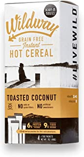 product image for Wildway Grain-free Instant Keto Hot Cereal: Toasted Coconut, 7oz (4 Pack)