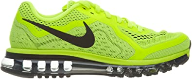 Zapatillas de running Nike Air Max 2014 Volt / Black / Barely Volt ...