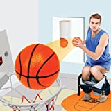 Slam Dunk Toilet Basketball Set