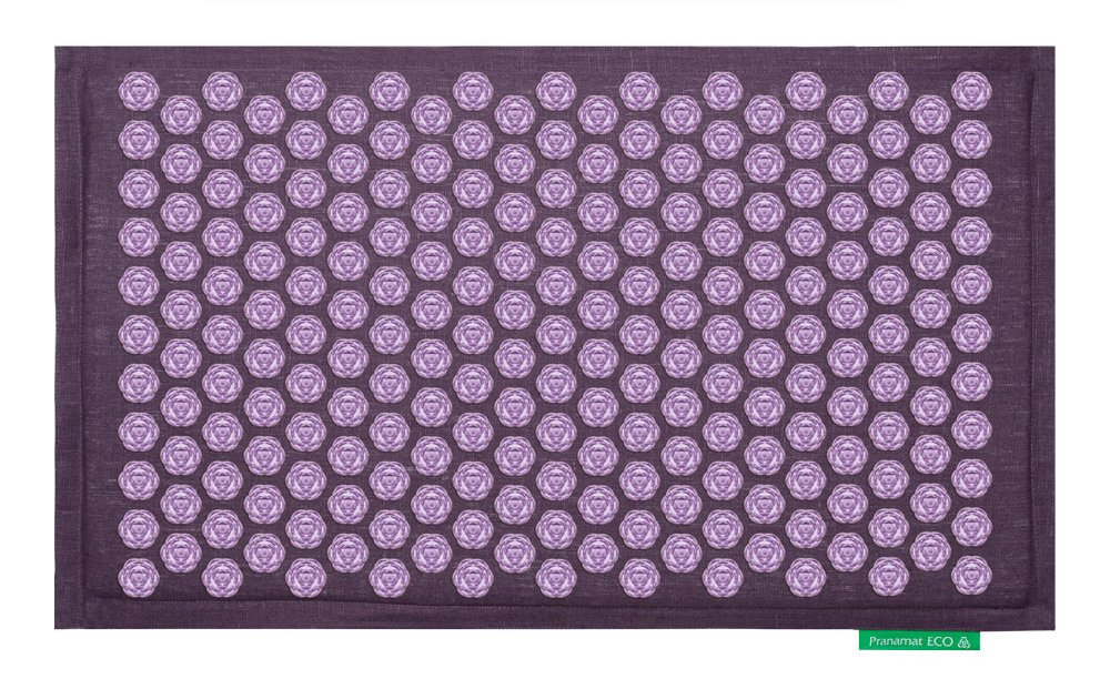 Pranamat ECO Therapeutic Manual Massage Mat (Lavender Lavender) by S-ANT (Image #1)