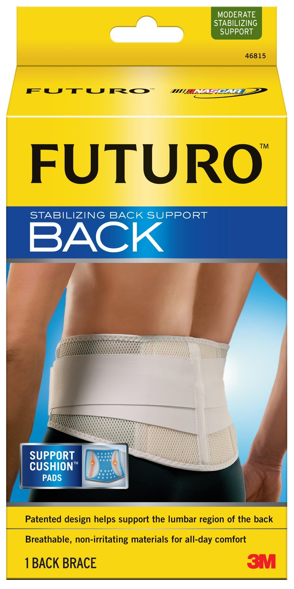 Futuro Stabilizing Back Support, Small/Medium