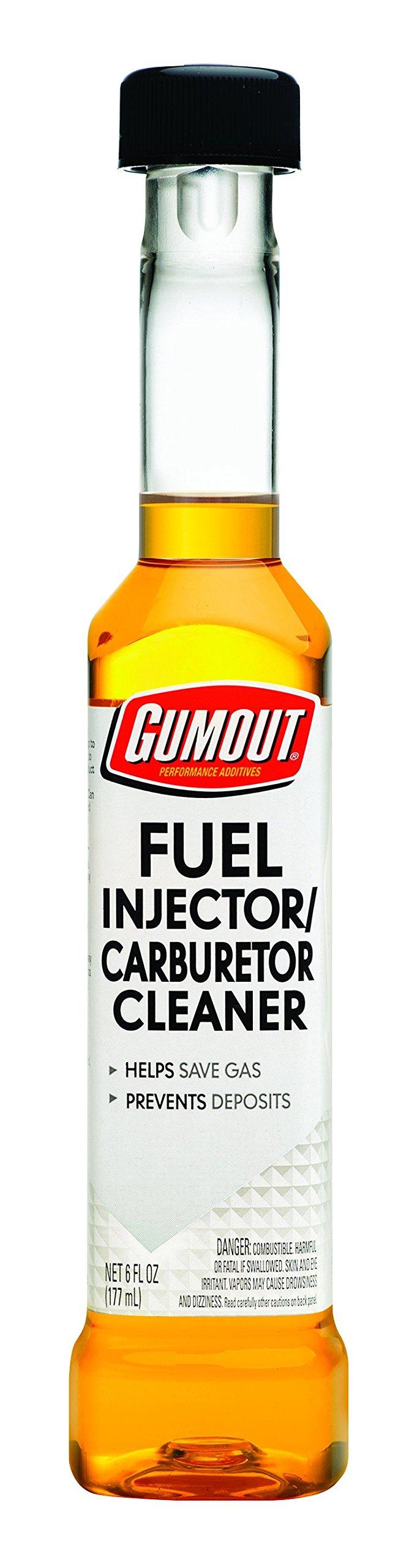 Gumout 800001373-12PK Carburetor/Fuel Injector Cleaner (12/6Oz)